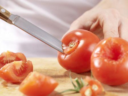 Kürbis-Auberginen-Gemüse: Zubereitungsschritt 2