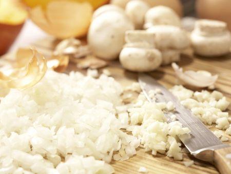 Kürbis-Eierkuchen: Zubereitungsschritt 1
