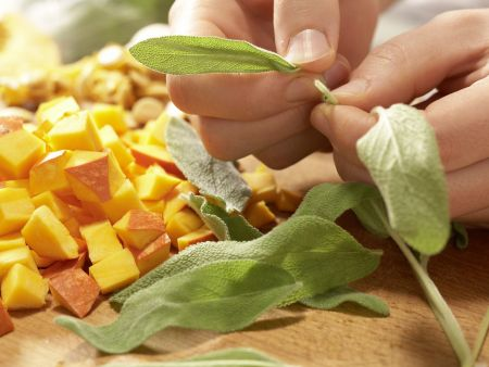 Kürbis-Eierkuchen: Zubereitungsschritt 2