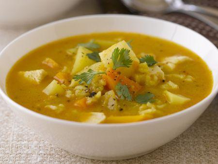 Kürbis-Gemüse-Suppe