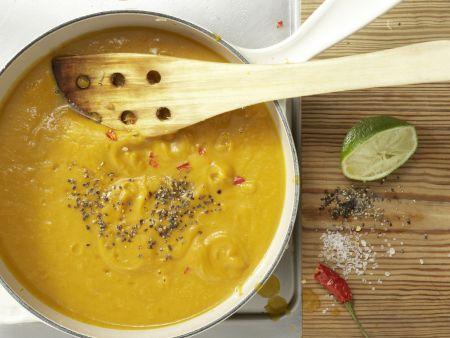 Kürbis-Ingwer-Suppe: Zubereitungsschritt 6
