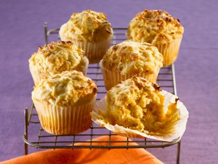Kürbis-Käse-Muffins