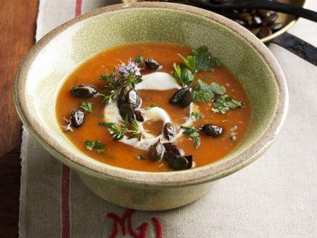 Rezept: Kürbis-Kartoffel-Suppe