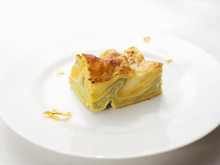 Rezept: Kürbis-Lasagne