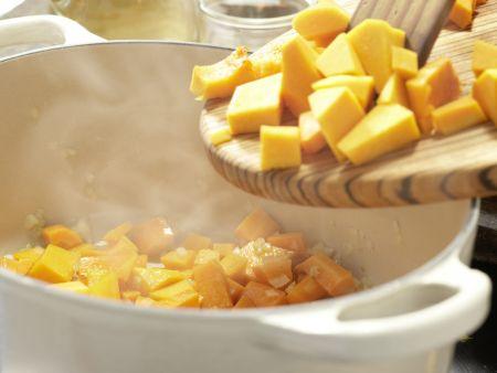 Kürbis-Möhren-Suppe – smarter: Zubereitungsschritt 4