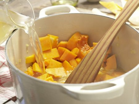 Kürbis-Möhren-Suppe – smarter: Zubereitungsschritt 5
