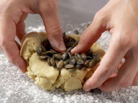 Kürbis-, Safran- und Hagebuttenplätzchen: Zubereitungsschritt 5