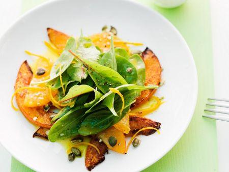 k rbis spinat salat rezept eat smarter. Black Bedroom Furniture Sets. Home Design Ideas