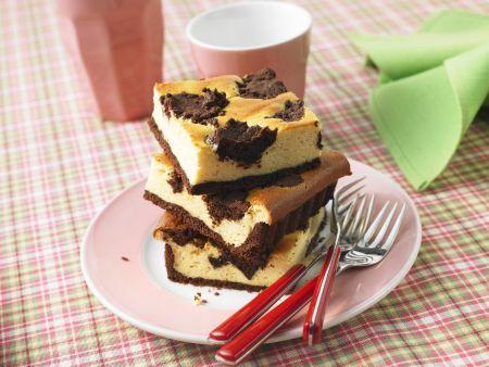 Kuhflecken Kuchen (Russischer Zupfkuchen)