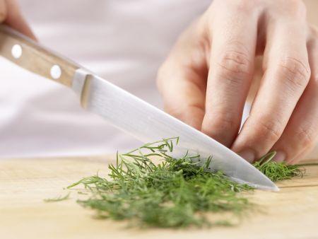 Lachs-Gurken-Salat: Zubereitungsschritt 3