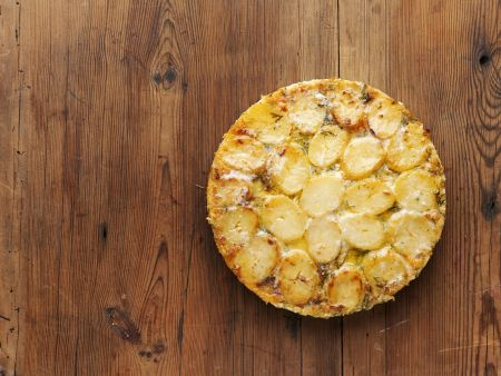 Rezept: Lachs-Kartoffel-Gratin auf schwedische Art