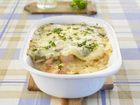 Rezept: Lachs-Lasagne