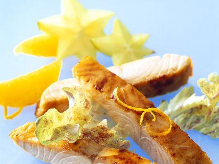 Rezept: Lachs mit Früchten