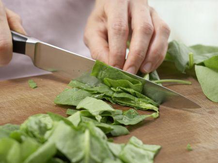 Lachs-Spinat-Pfanne: Zubereitungsschritt 5