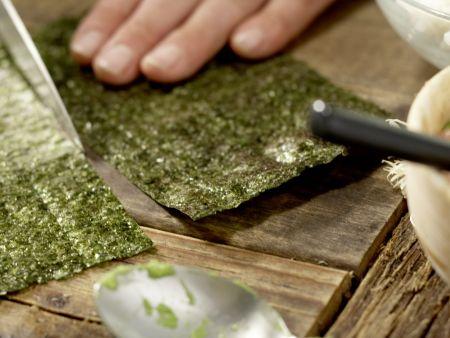 Lachs-Sushi: Zubereitungsschritt 4