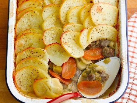 Lamm-Kartoffel-Auflauf