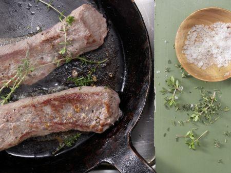 Lammlachs auf Couscous: Zubereitungsschritt 5