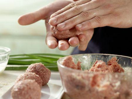 Lammhackbällchen-Ragout: Zubereitungsschritt 2