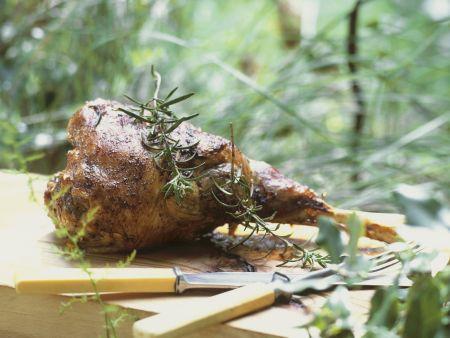 Lammkeule auf provenzalische Art