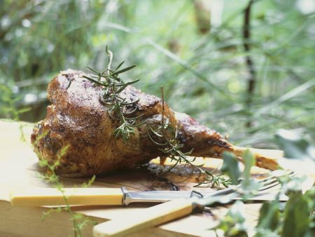 Rezept: Lammkeule auf provenzalische Art