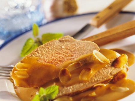 Lammkeule mit Honigsauce