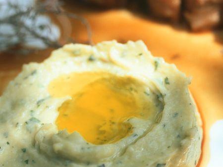 Lammkoteletts mit Kartoffelpüree