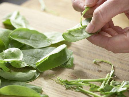 Lammspieße mit Bulgursalat: Zubereitungsschritt 8