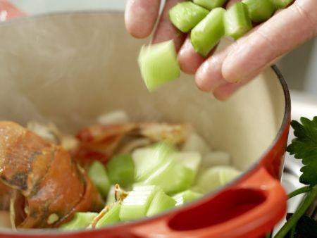 Langusten-Kokos-Suppe: Zubereitungsschritt 5