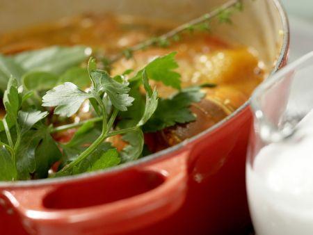 Langusten-Kokos-Suppe: Zubereitungsschritt 7