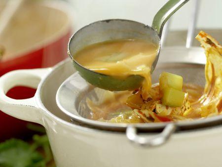 Langusten-Kokos-Suppe: Zubereitungsschritt 8