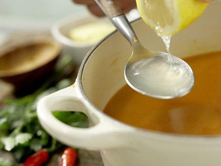 Langusten-Kokos-Suppe: Zubereitungsschritt 9