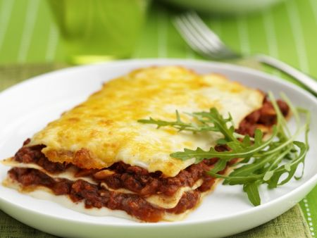 Rezept: Lasagne mit Hackfleischsauce