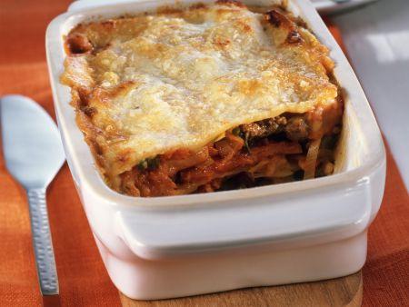 Lasagne mit Kürbis