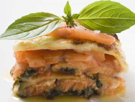Rezept: Lasagne mit Wildlachs