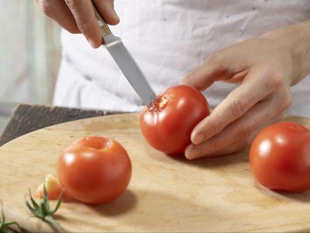 Lauch-Tomaten-Gratin: Zubereitungsschritt 4