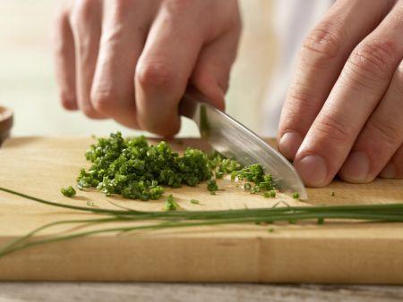 Lauwarme Reisfrikadellen: Zubereitungsschritt 4