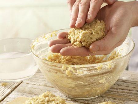 Lauwarme Reisfrikadellen: Zubereitungsschritt 6