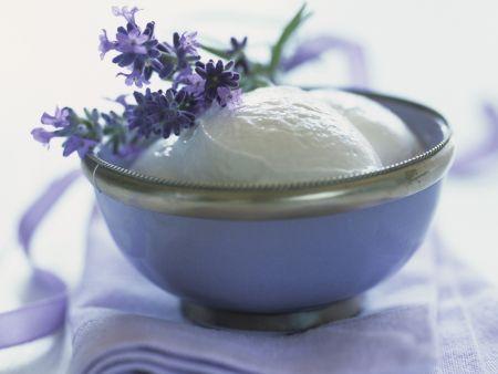 Lavendelsorbet