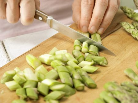 Leichte Käsesuppe: Zubereitungsschritt 2