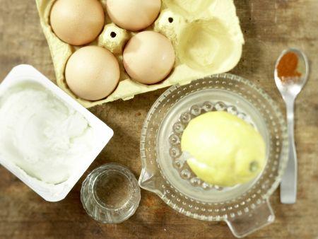 Leichte Mayonnaise: Zubereitungsschritt 1