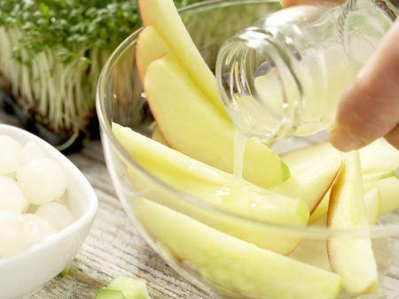 Leichter Geflügelsalat: Zubereitungsschritt 2