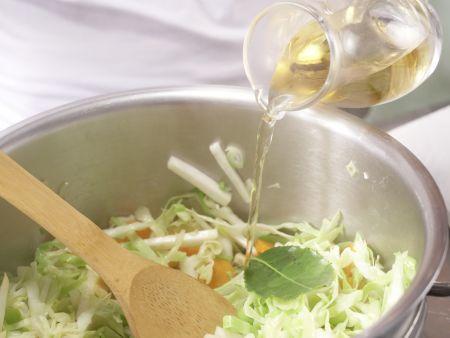 Leichter Gemüseeintopf: Zubereitungsschritt 6