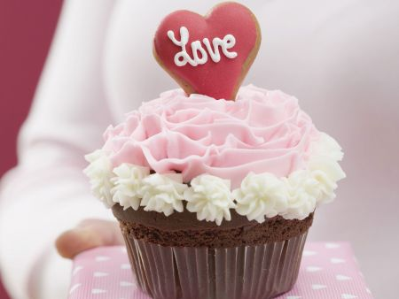 Liebes-Cupcake