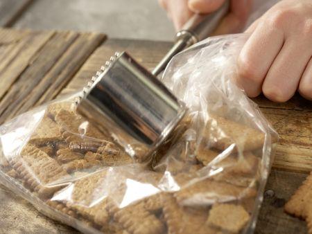 Limetten-Baiser-Kuchen: Zubereitungsschritt 1