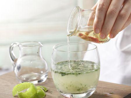 Limetten-Ingwer-Cocktail: Zubereitungsschritt 4