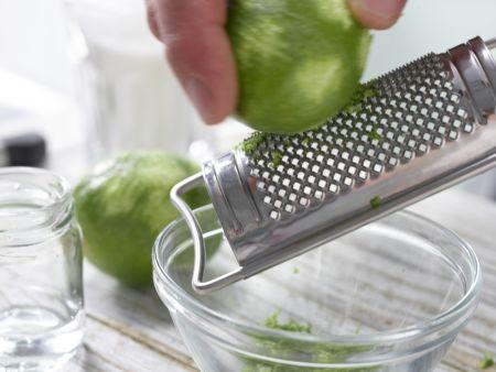 Limettenkuchenwürfel: Zubereitungsschritt 2