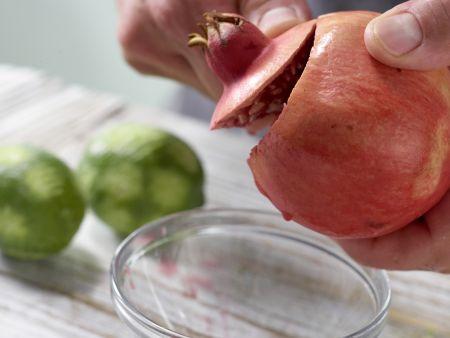 Limettenkuchenwürfel: Zubereitungsschritt 7