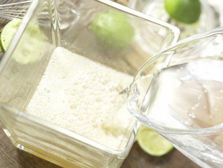 Limettenlimonade: Zubereitungsschritt 5