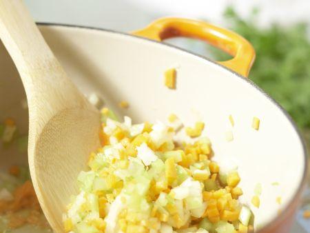 Linsen-Gemüse-Bolognese: Zubereitungsschritt 3