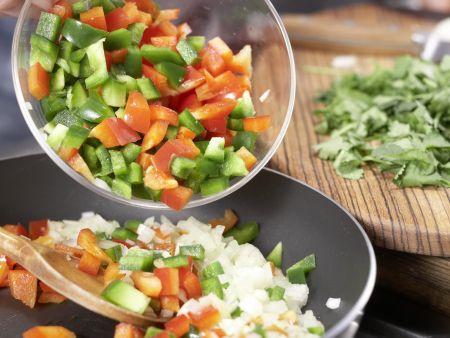 Mais-Paprika-Auflauf: Zubereitungsschritt 4